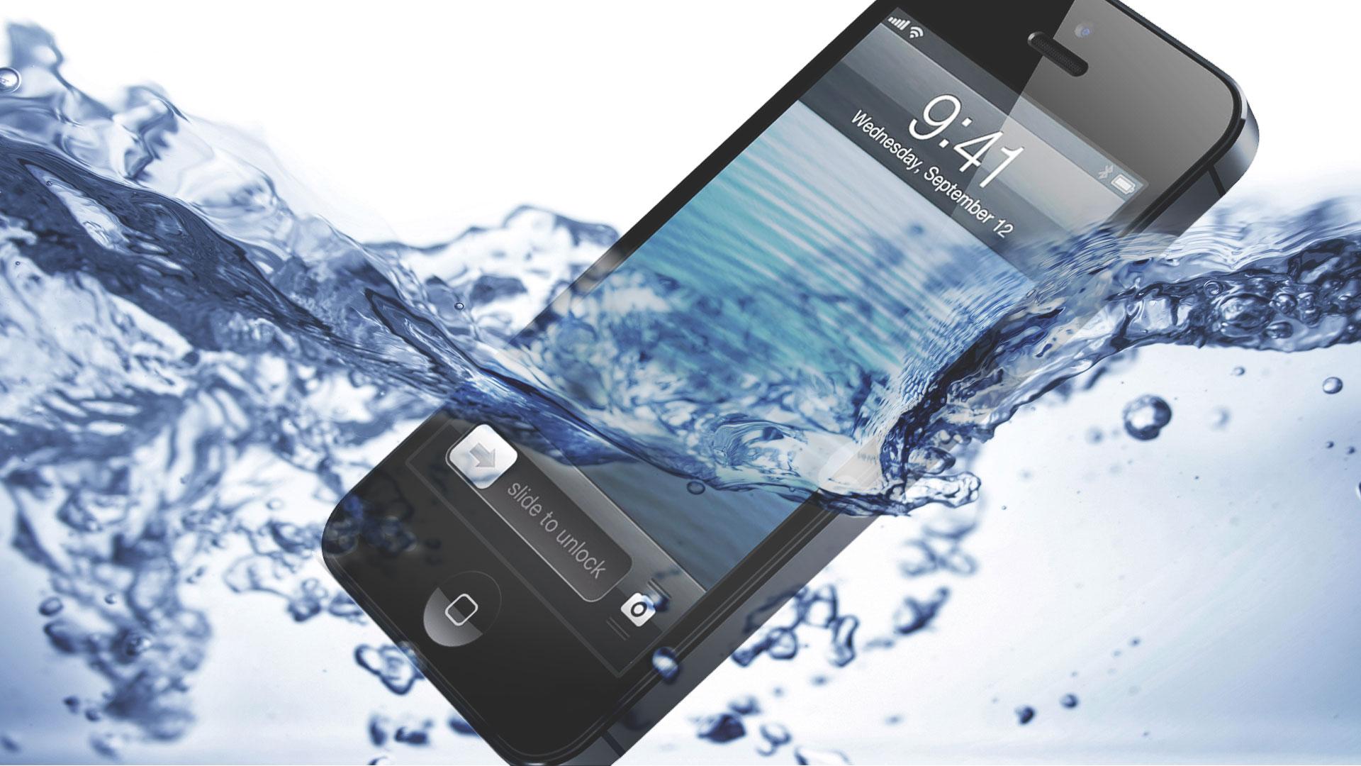 quoi faire en cas de dommages liquides sur un téléphone