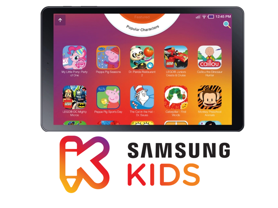 Application Samsung Kids